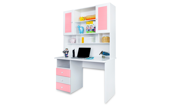 French Collection Study Table, Pink