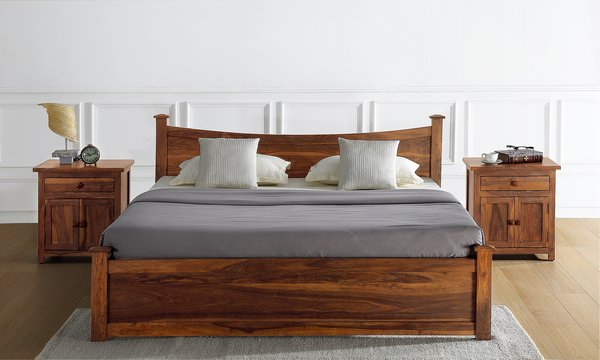 Wellington King Size Bed with Storage