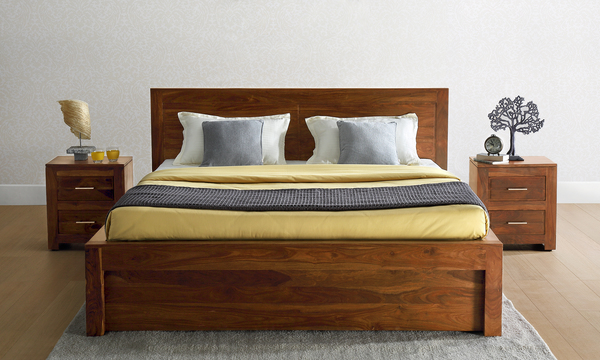 Joel Queen Size Bed with Storage