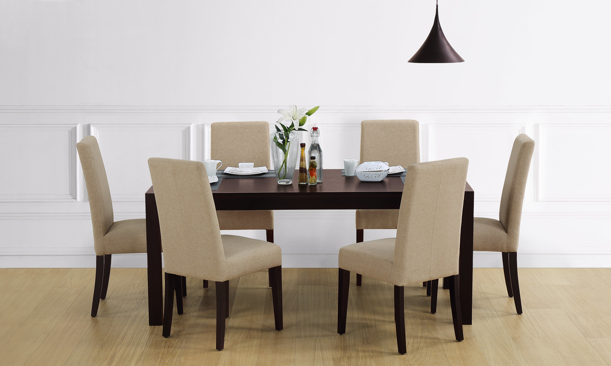 buy ashby  seater dining table online in india  livspace, Dining tables