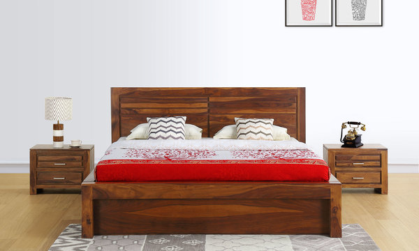 Arlene Queen Size Bed with Storage