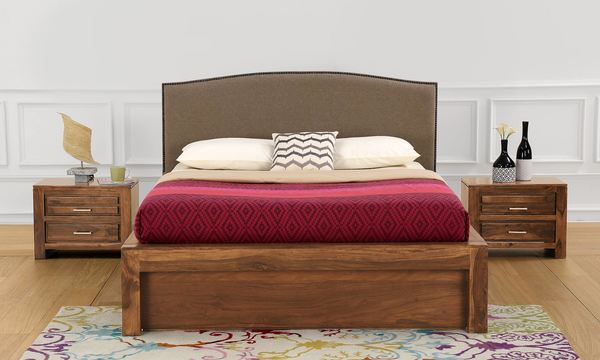 Sianna Queen Size Bed with Storage