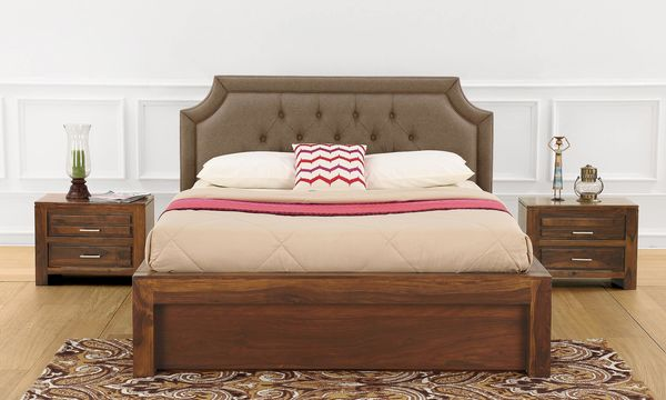 Henrietta King Size Bed with Storage
