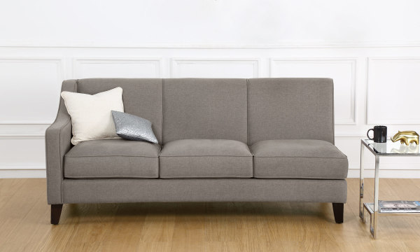 Hayden 3 Seater Sectional, Left Arm
