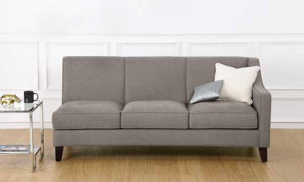 Hayden 3 Seater Sectional, Right Arm