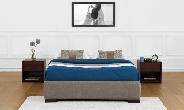 Sarah Upholstered Bed Frame, King