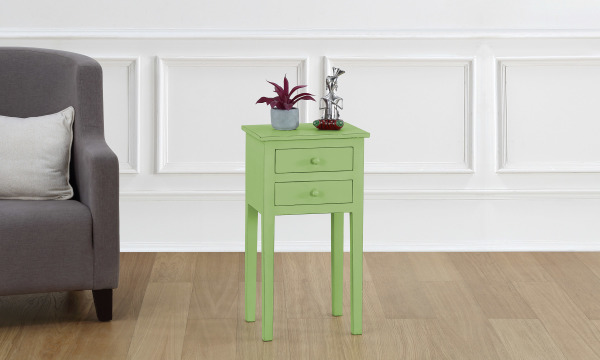 Sarisha 2 Drawer Night Stand