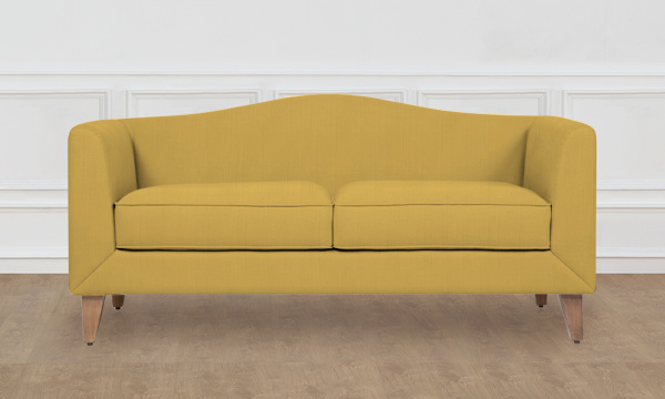 Create Your Couch Curvy Classic 2-Seater Sofa