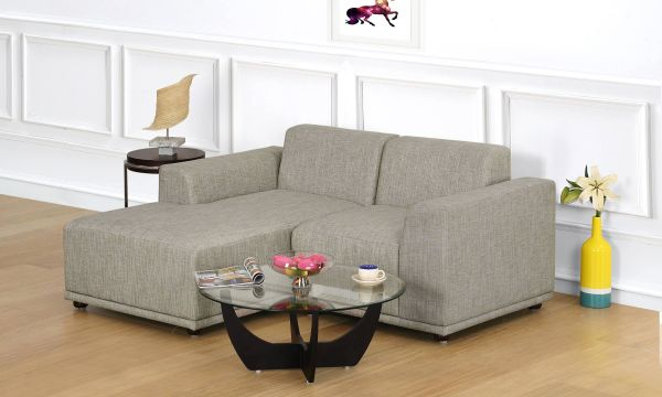 Axel L Shape Sofa, Single Seater with Chaise, Left Aligned