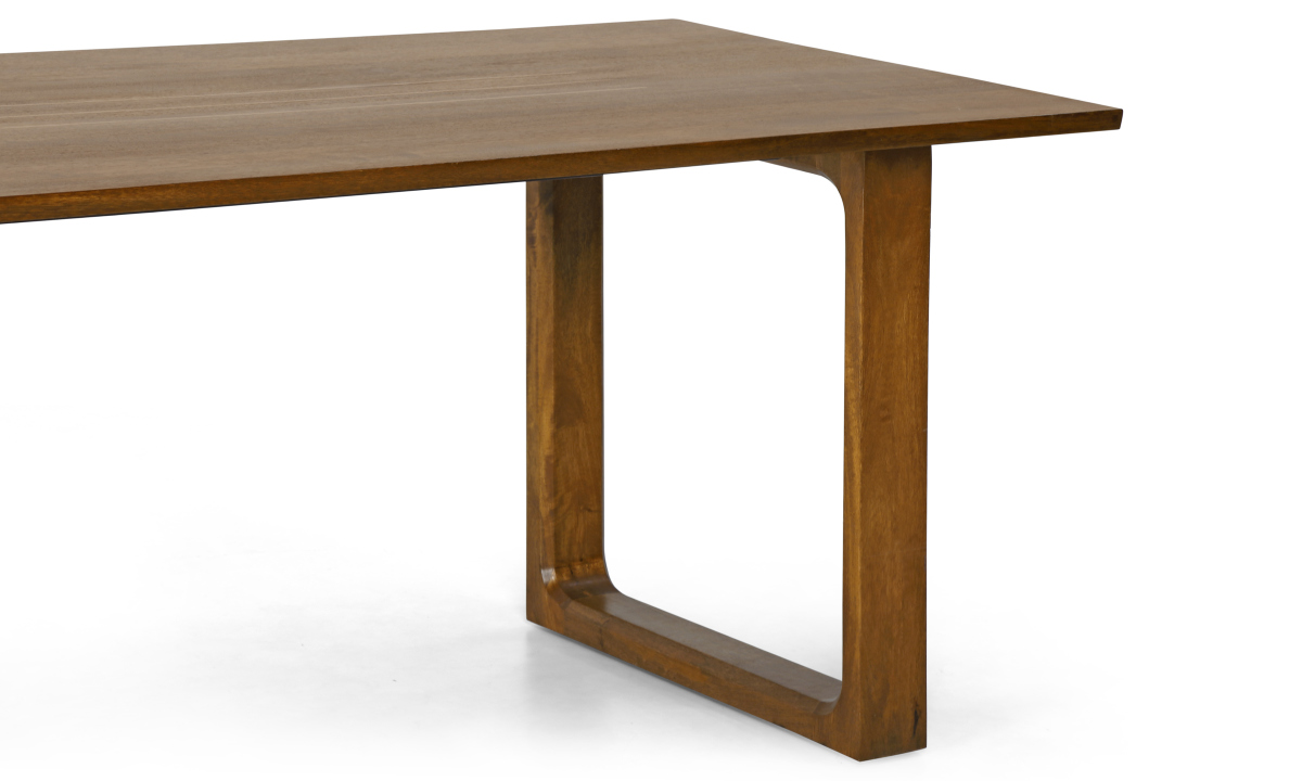 Buy marlow 6 seater dining table vertical strips online in india - Buy dining tables ...